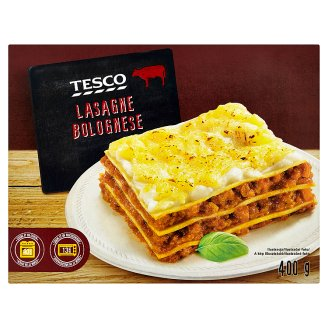 Tesco Lasagne Bolognese 400g