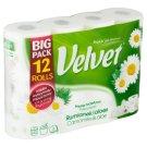 Velvet Camomile & aloe toaletní papír s vůní 3 vrstvy 12 rolí