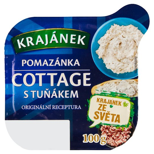 Krajánek Cotagge with Tuna Spread 100g