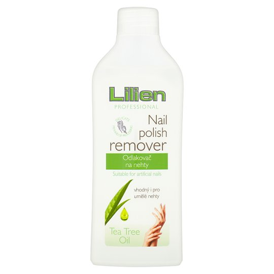 Lilien Professional Tea Tree Oil Nail Polish Remover 200ml