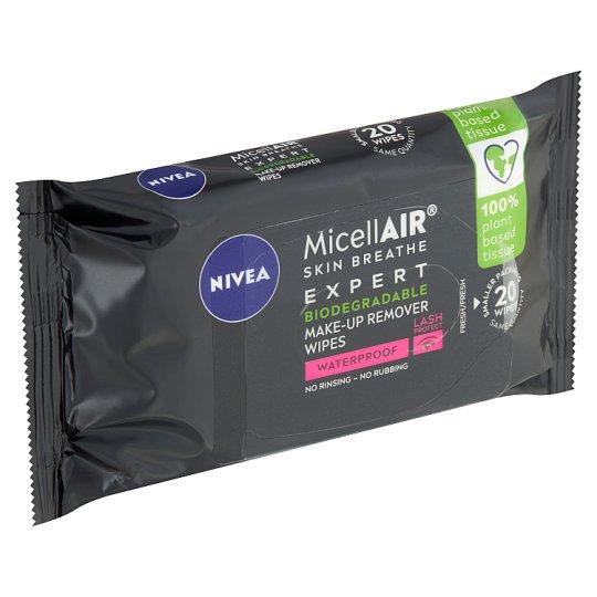 Nivea MicellAir Expert Expertní odličovací micelární ubrousky 20 ks