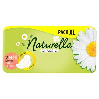 Naturella Classic Camomile Normal Hygienické Vložky 18x