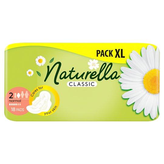Naturella Sanitary Towels Classic Normal Camomile 18 Pads