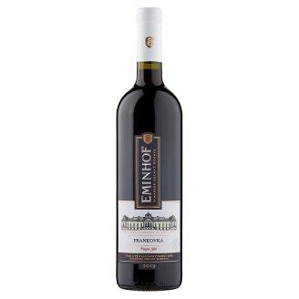 Eminhof Frankovka pozdní sběr víno s přívlastkem červené suché 0,75l