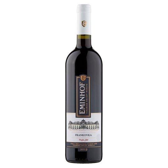 Eminhof Frankovka víno s přívlastkem pozdní sběr červené suché 0,75l