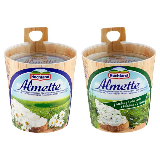 Hochland Almette Fluffy Curd Cheese with Herbs 150g