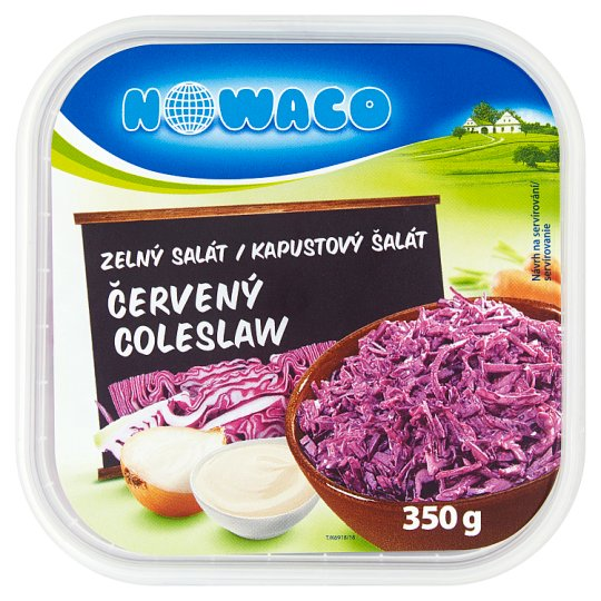 Nowaco Cabbage Salad Red Coleslaw 350g