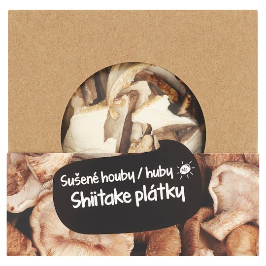 České Houby Shiitake Slices Dried Mushrooms 30g