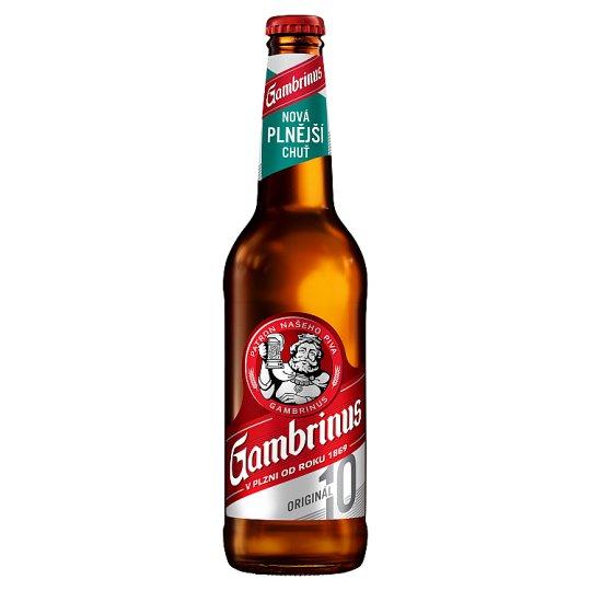 Gambrinus Originál 10 pivo výčepní světlé 0,5l