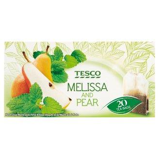 Tesco Ovocný čaj s meduňkou a hruškovou příchutí 20 x 1,5g
