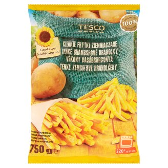 Tesco Thin Potato Fries 750g