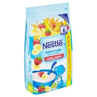 Nestlé Mléčná kaše rýžovo - kukuřičná jahoda - banán 300g