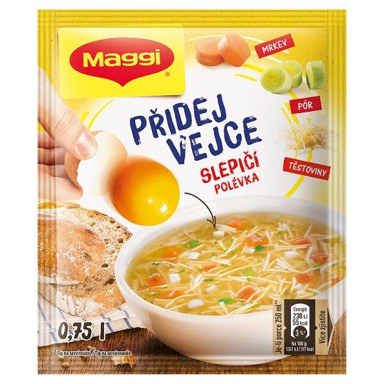 MAGGI Přidej vejce Chicken Soup Bags 32g