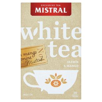 Mistral Směs bílého čaje a jasmínového čaje s příchutí manga 20 x 1g