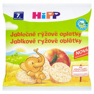 HiPP Organic Apple Rice Wafers 30g