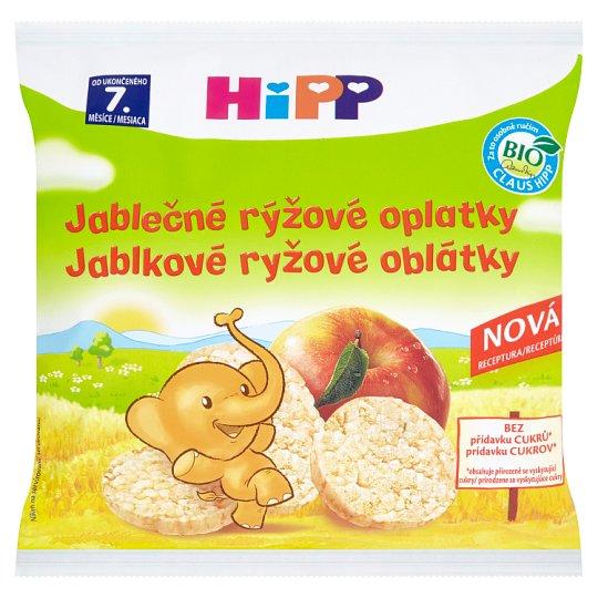 HiPP Bio jablečné rýžové oplatky 30g