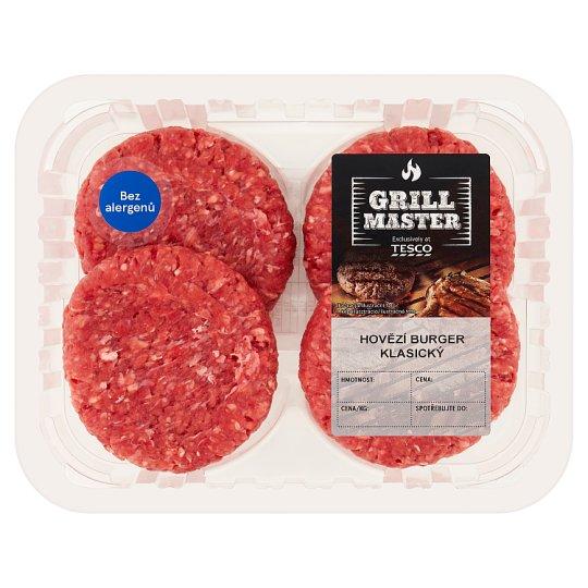 Tesco Grill Beef Burger Classic 0.440kg