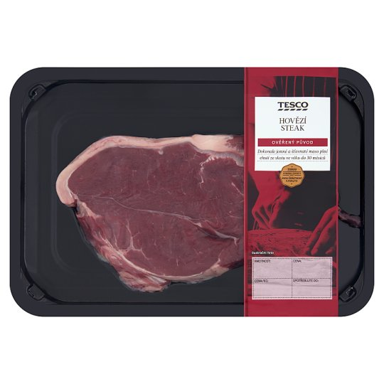 Tesco Hovězí steak z nízkého roštěnce 0,200kg