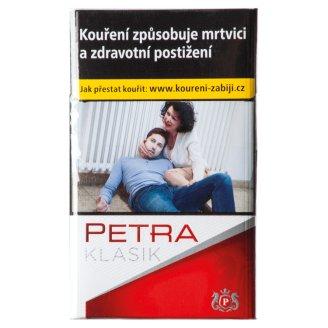 Petra Klasik Červená cigarety s filtrem 20 ks