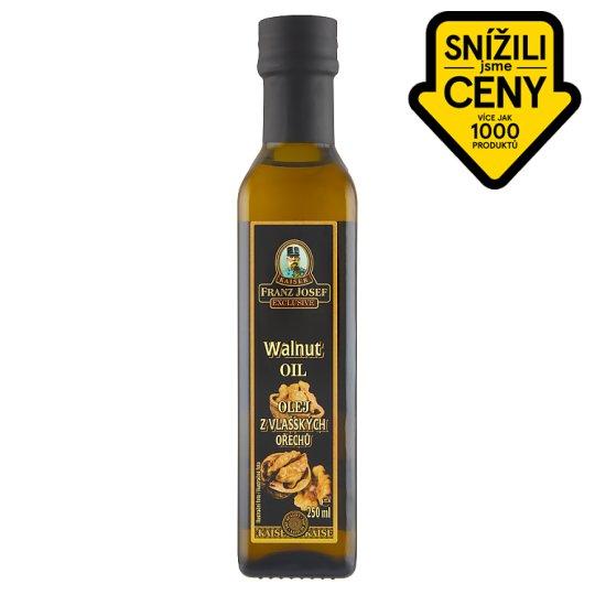 Kaiser Franz Josef Exclusive Olej z vlašských ořechů 250ml