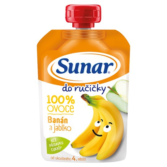 Sunárek Do Ručičky Apple Banana 100% Fruit 100g