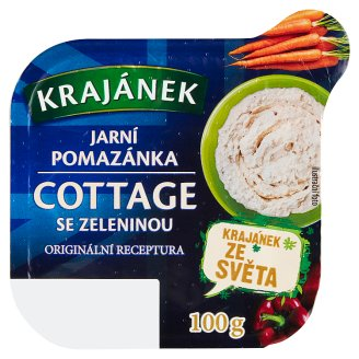 Krajánek Spring Spread Cottage with Vegetables 100g