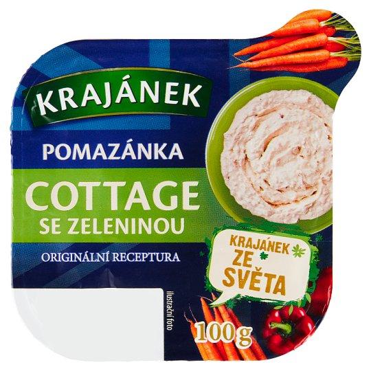 Krajánek Spring Spread Cottage with Vegetables 100g