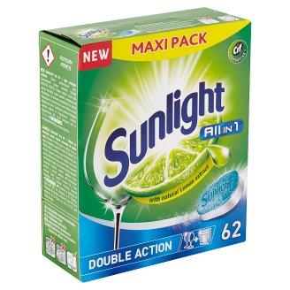Sunlight All in 1 Tablety do myčky nádobí 62 ks 1085g