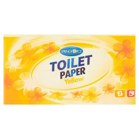 Springforce Toaletní papír Yellow 8 rolí