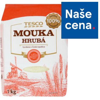 Tesco Rough Flour 1kg