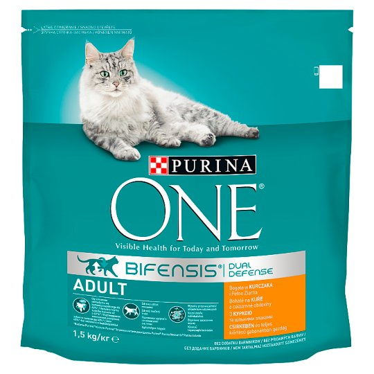 Purina ONE Adult Rich in Chicken and Whole Grain Cereals 1.5kg