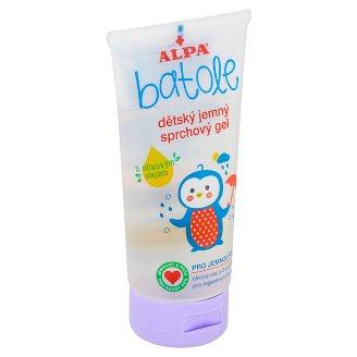 Alpa Batole Dětský jemný sprchový gel s olivovým olejem 170ml