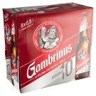 Gambrinus Original 10 Draft Beer Light 8 x 0.5L