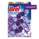 Bref Color Aktiv Lavender tuhý WC blok 3 x 50g