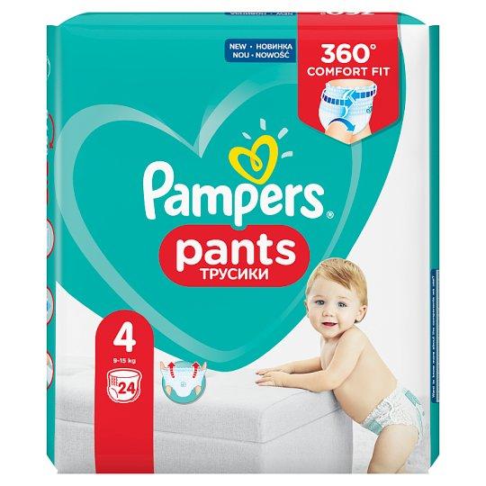 Pampers Pants V4, 24Plenek, Snadno Se Oblék. Vzduch. Kanál.