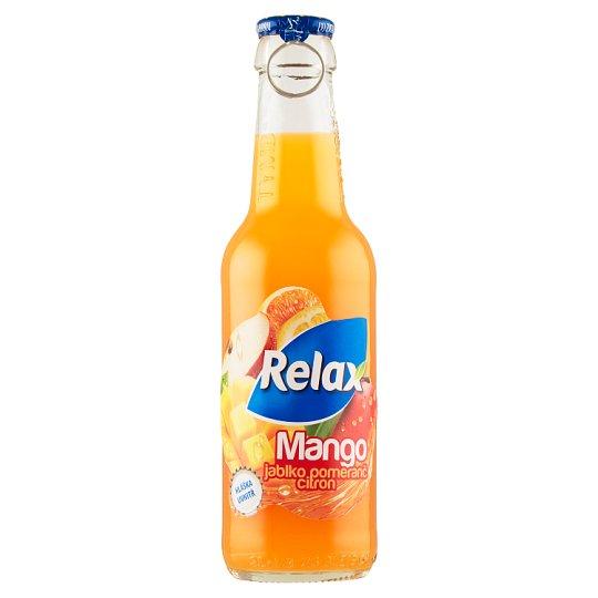 Relax Mango, jablko, pomeranč, citron 250ml