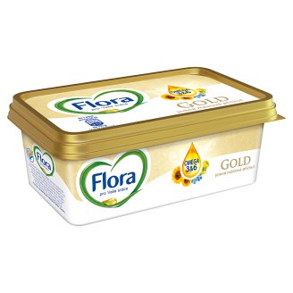 Flora Gold Vegetable Fat Spreads with a Delicate Buttery Flavor with a Fat Content 70% 200g