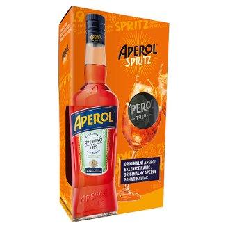 Aperol 0,7l + Aperol sklenice