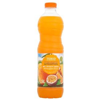 Tesco Nealkoholický nápoj ovocný s příchutí mangostanu 1,5l