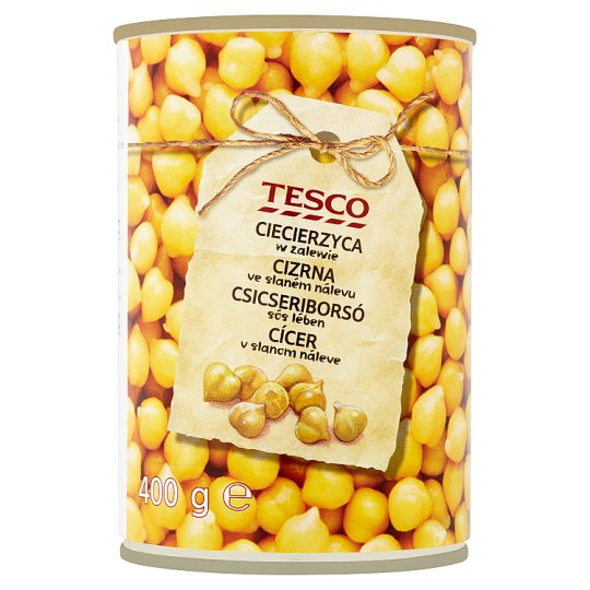 Tesco Chick Peas in Brine 400g