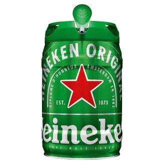 Heineken pivo světlý ležák pasterizovaný 5l