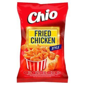 Chio Fried Chicken Style smažený bramborový snack s příchutí pečeného kuřete 65g