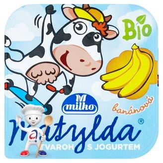 Milko Matylda Dessert with Organic Curd and Organic Yoghurt 100g