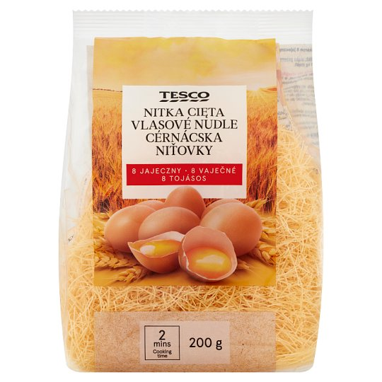 Tesco Vermicelli 8 Eggs 200g