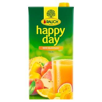 Rauch Happy Day 100% Multivitamínová šťáva vyrobená z vícedruhové ovocné šťávy/pyré 2l