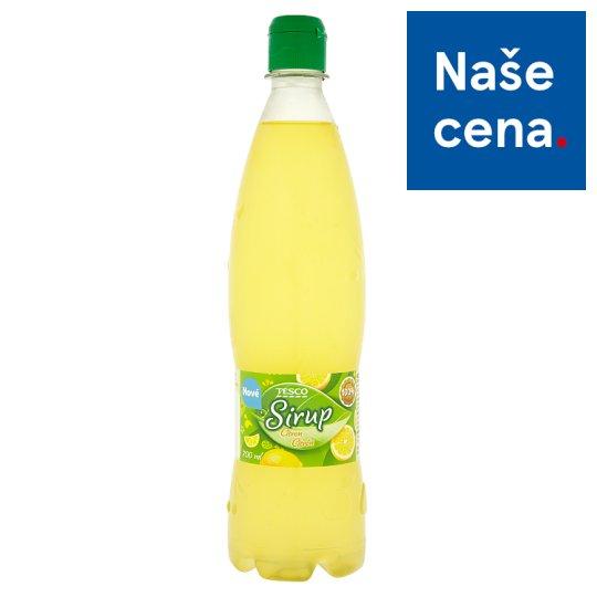Tesco Sirup citrón 700ml