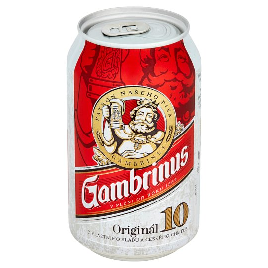 Gambrinus Originál 10 pivo výčepní světlé 330ml