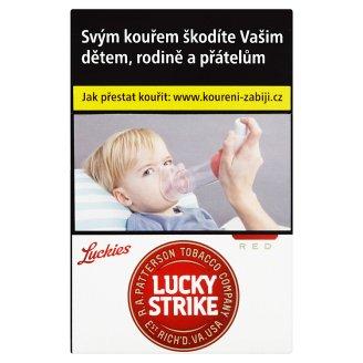 Lucky Strike Red cigarety s filtrem 20 ks