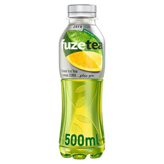 FuzeTea Lemon Zero zelený ledový čaj 500ml