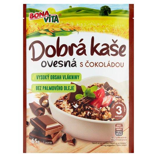Bona Vita Dobrá Kaše Original Oatmeal Porridge Chocolate 65g